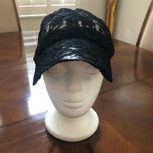 🖤 NEW LACE CAP IN BLACK 🖤